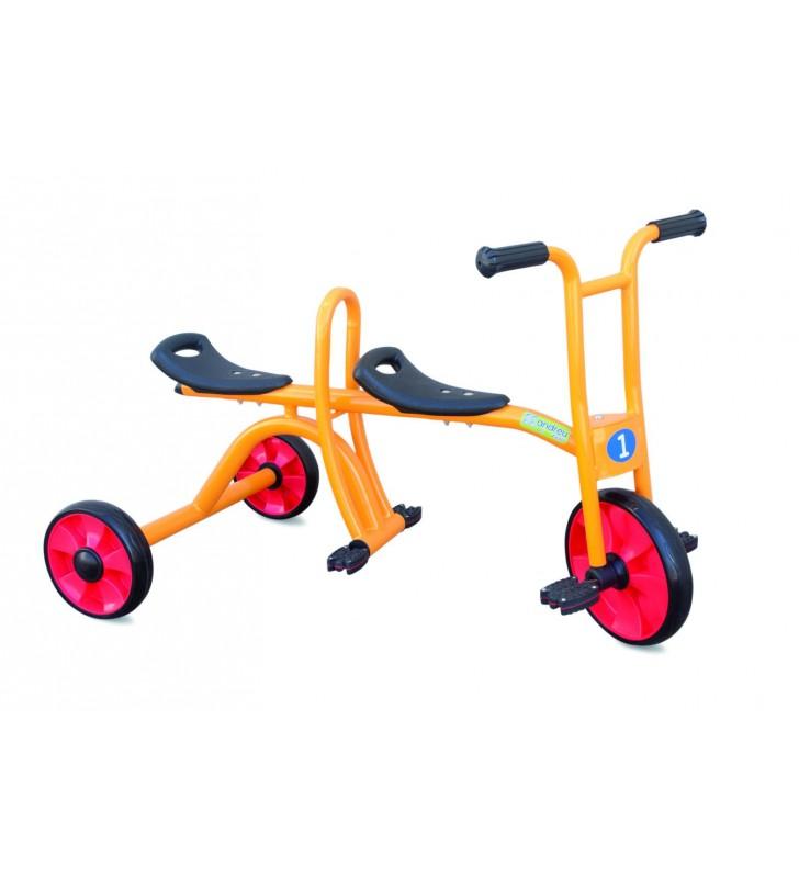 Triciclo Duplo 3-7 Anos