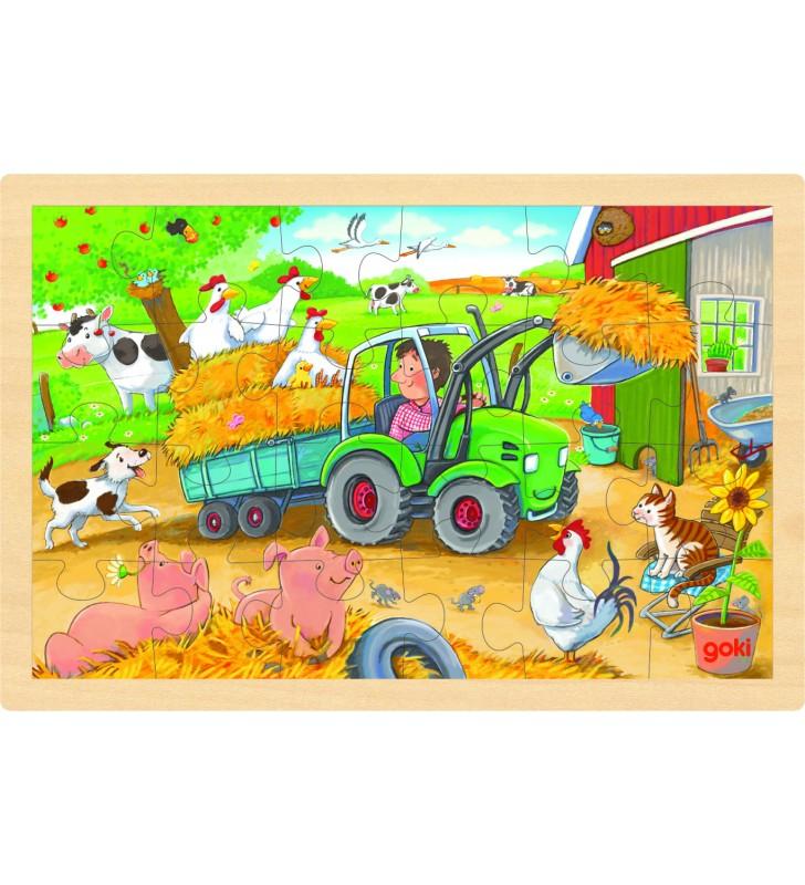 Puzzle Tractor na Quinta