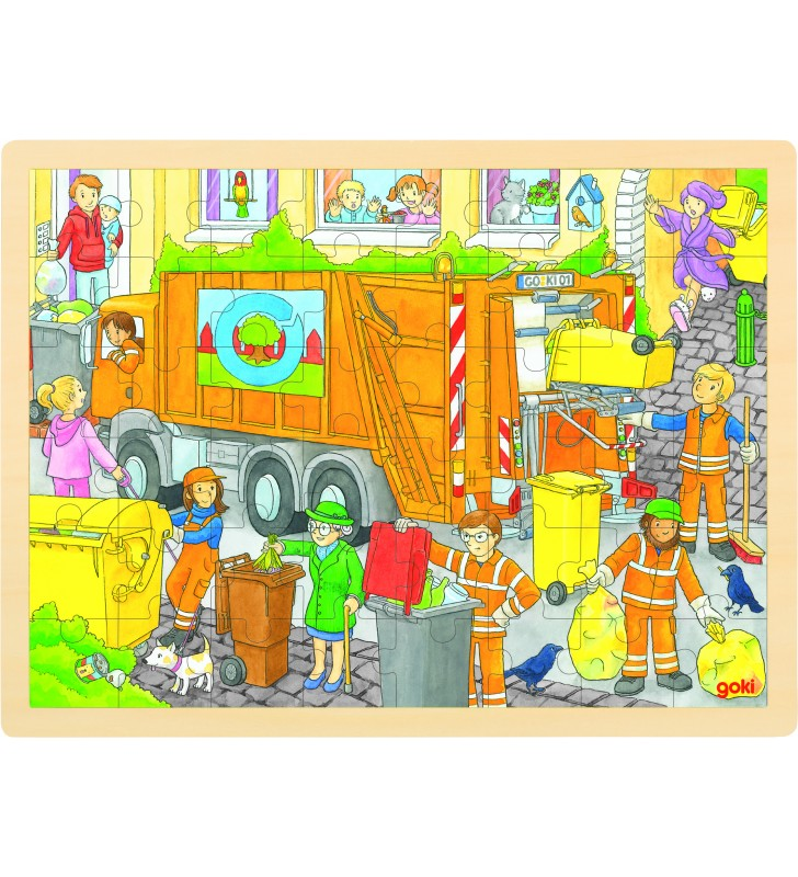Puzzle Recolha do Lixo