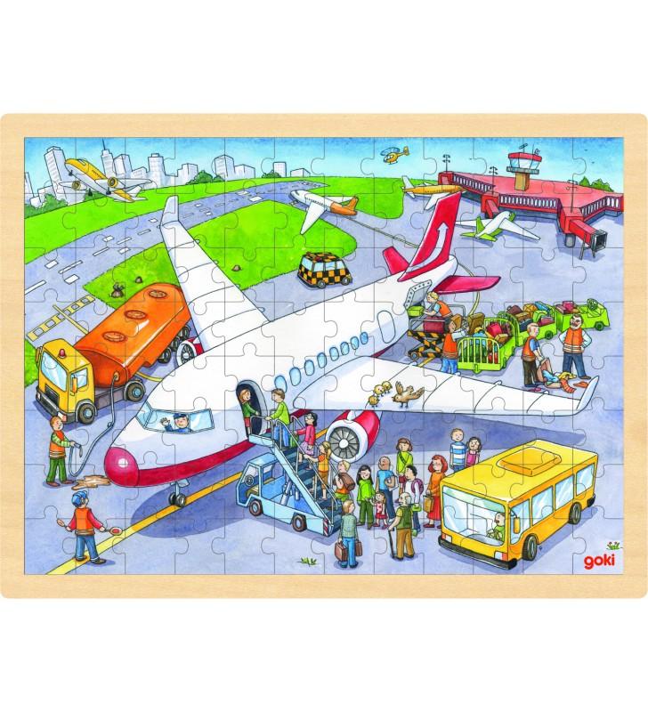 Puzzle no Aeroporto