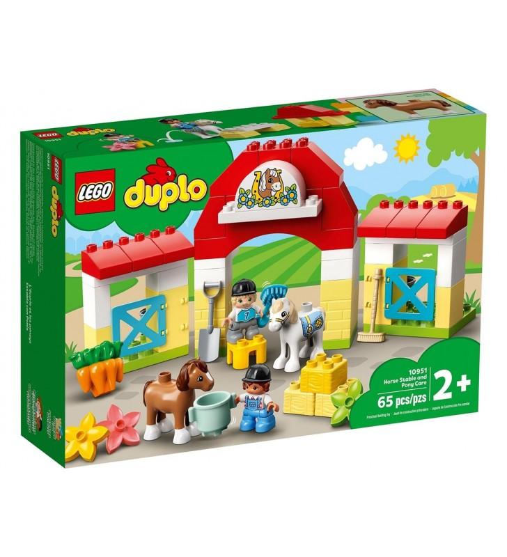 Lego Duplo Estábulo Cavalos e Cuidar Póneis 10951
