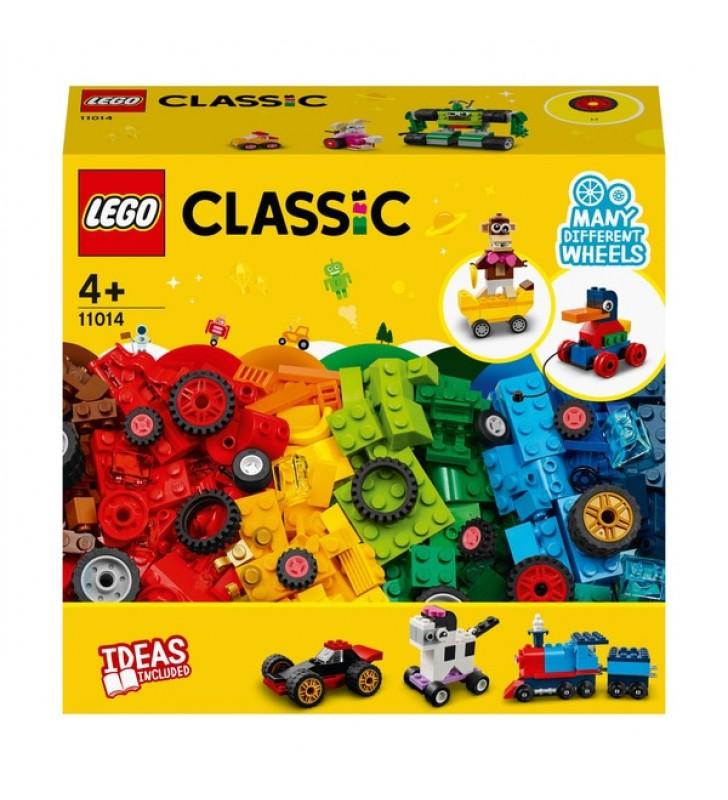 Lego Classic Peças e Rodas 11014