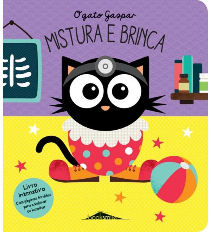 Livro O Gato Gaspar: Mistura e Brinca