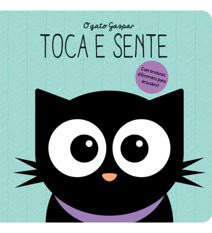 Livro O Gato Gaspar: Toca e Sente