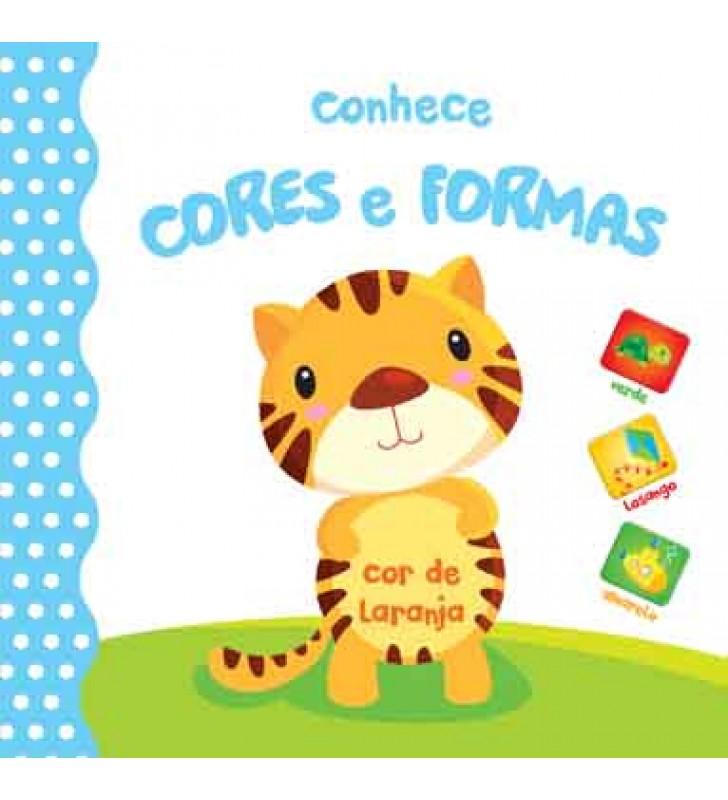 Livro Conhece Cores e Formas