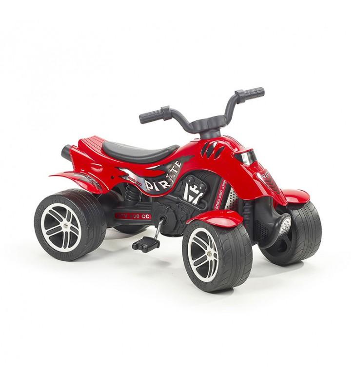 Moto 4 Vermelha com pedais