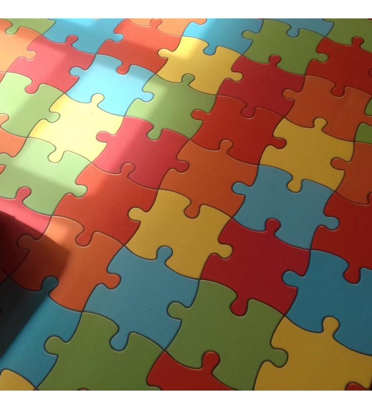 Tapete vinil Puzzle I