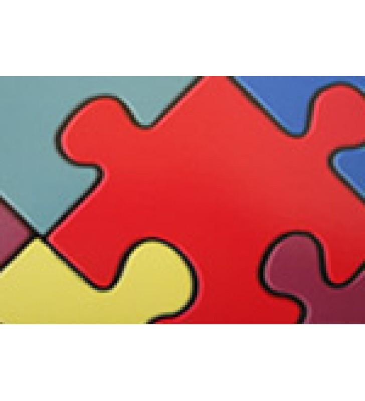 Tapete vinil Puzzle II